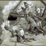 Fortunino Matania Zenobia Defends Palmyra in 240 BCE, early 20thc