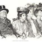 Charles Danna Gibson, Seeing New York (The Flat Iron), 1905