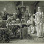 Fortunino Matania Owena Offering Wine To King Vortigern, early 20thc